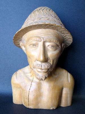 木彫りのおじいちゃん
