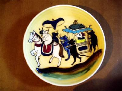 アジア土産の皿
