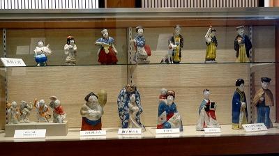 歴史資料館の佐土原人形